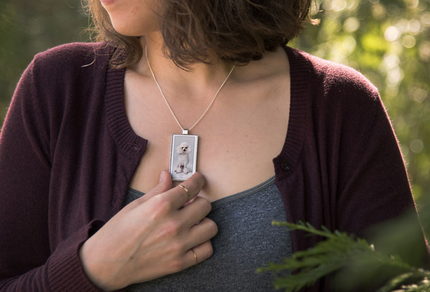 wearable photo jewelry