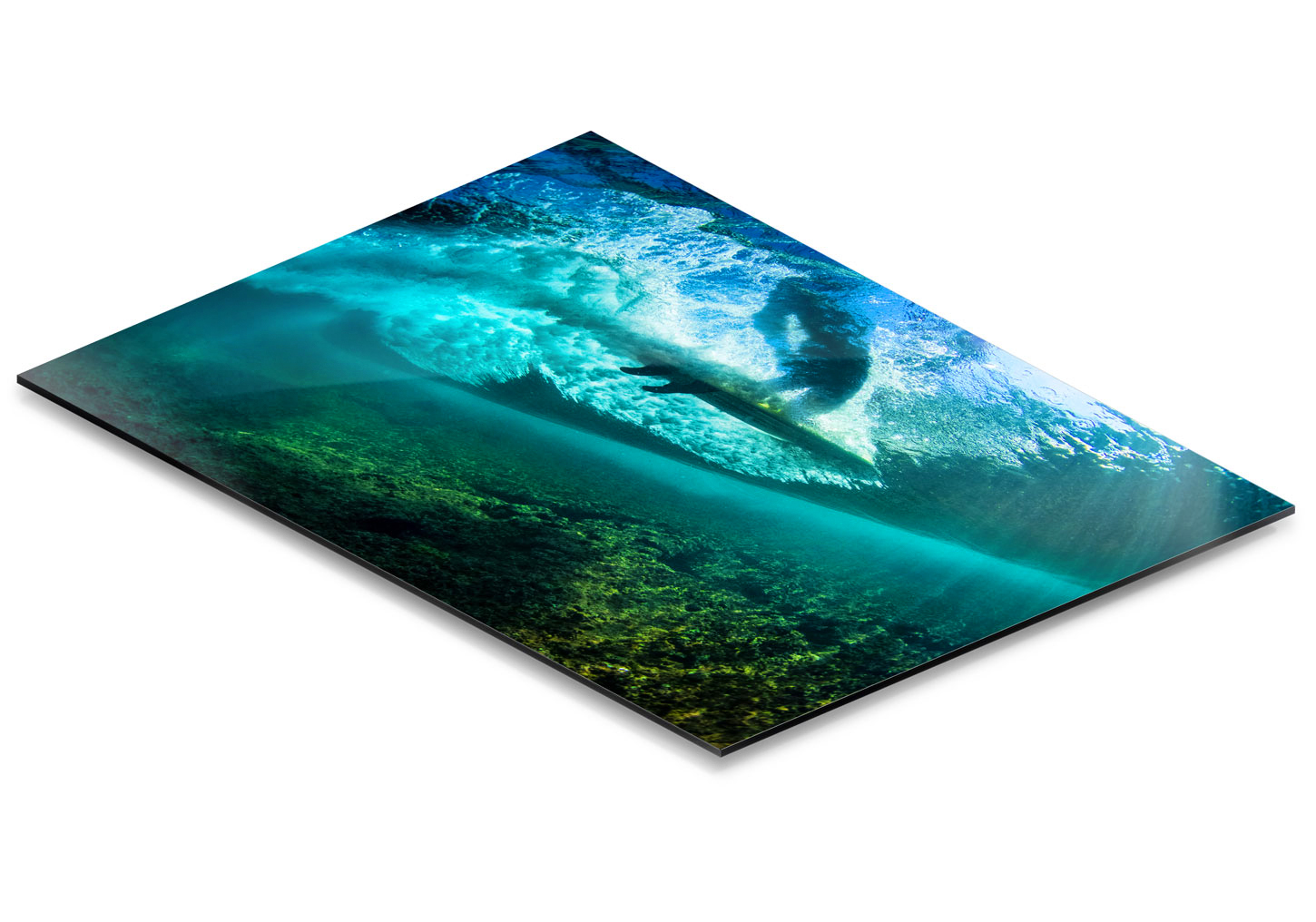 Epic Prints are high resolution photographic prints mounted on an aluminum substrate and finished with a thick laminate.